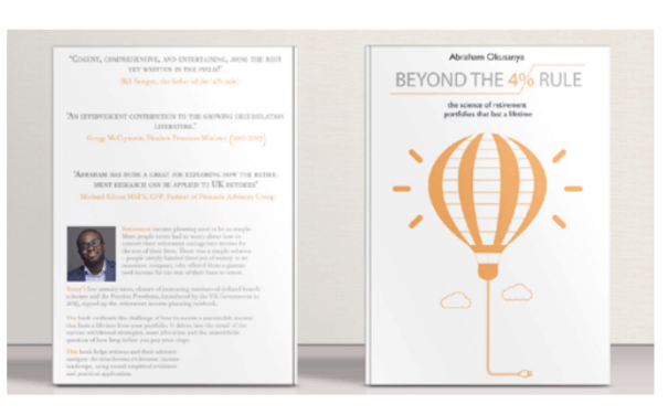 BEYOND THE 4% RULE: THE SCIENCE OF RETIREMENT PORTFOLIOS THAT LAST A LIFETIME Book Cover