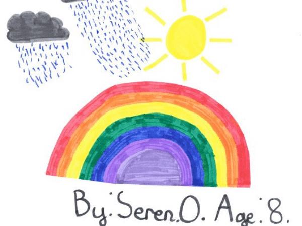 Seren, Age 8