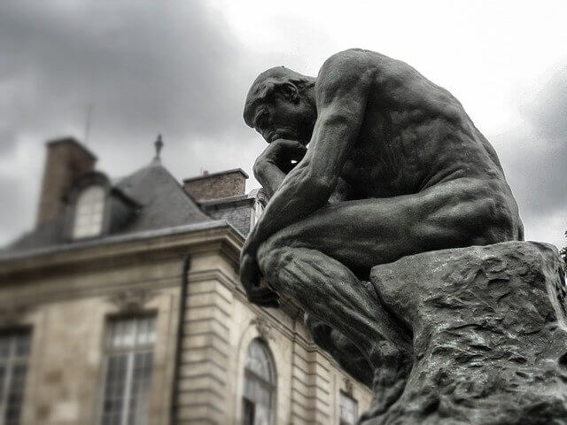 Philosophy Statue - The Thinker